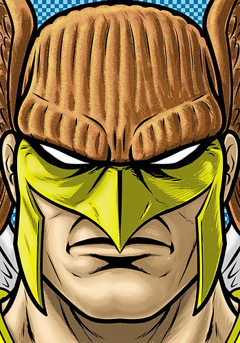 Hawk Man HeadShot