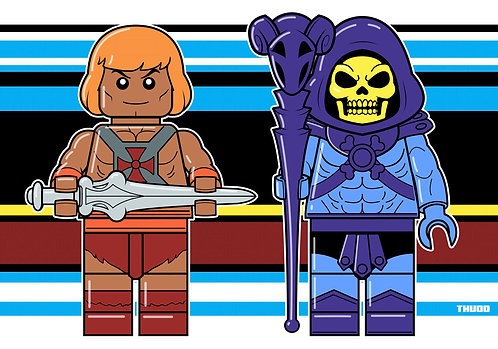 He-Man Skeletor Lego