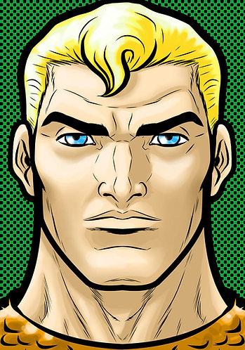 Aquaman HeadShot