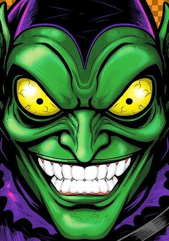 Green Goblin HeadShot