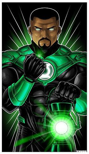 John Stewart Green Lantern Icon