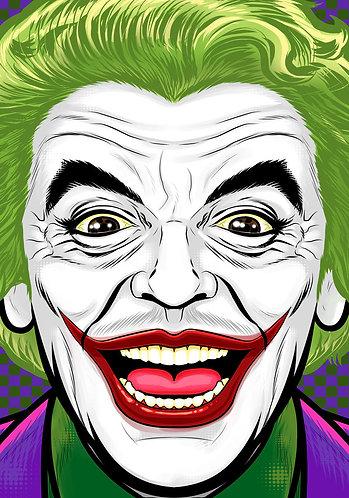 Caesar Romero Joker HeadShot