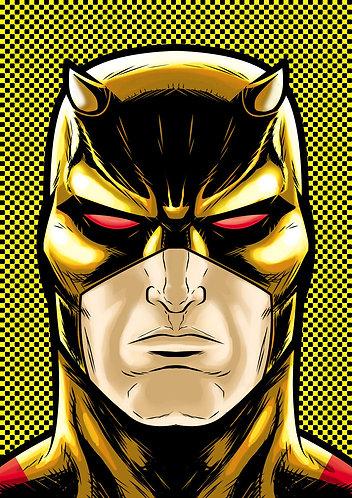 Dare Devil Yellow HeadShot