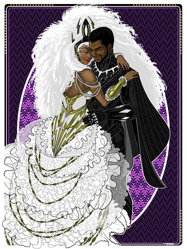Storm and Panther Wedding
