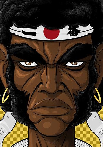 Afro Samurai HEAD
