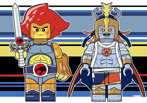 Lion-o Mum-ra Lego