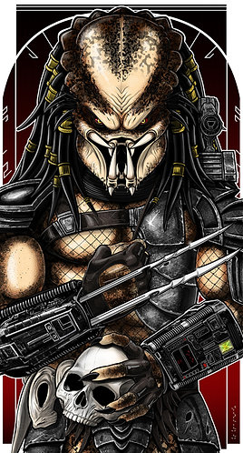 Predator No Mask ICON