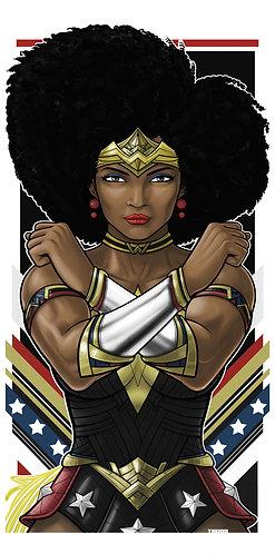 Nubia Wonder Woman Icon