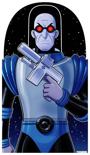 Mr. Freeze Animated Series ICON