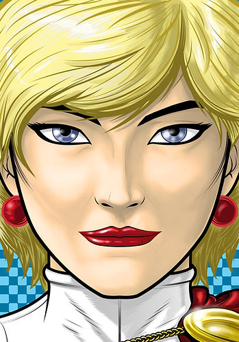 Power Girl HeadShot