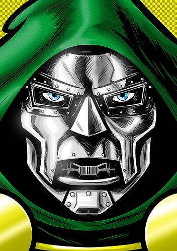 Dr. Doom HeadShot