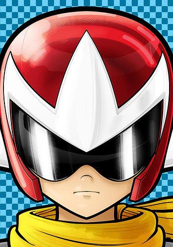 Protoman Headshot