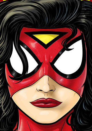 Spider Woman HeadShot