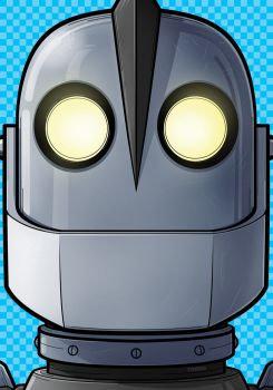 Iron Giant Headshot