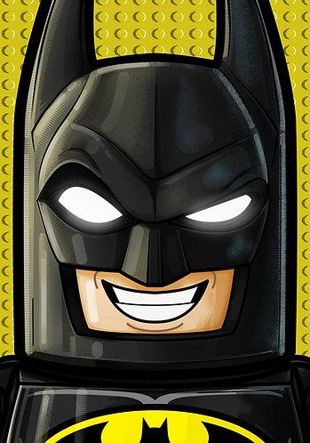Lego Batman HeadShot