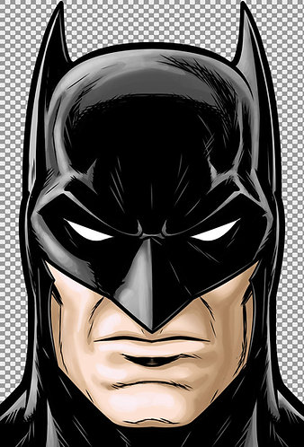 Batman Dark Knight HeadShot