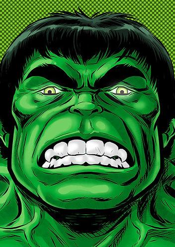 Hulk HeadShot