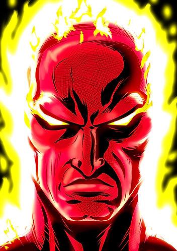 Human Torch HeadShot