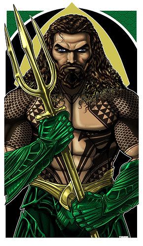 Aquaman Icon Tattoo