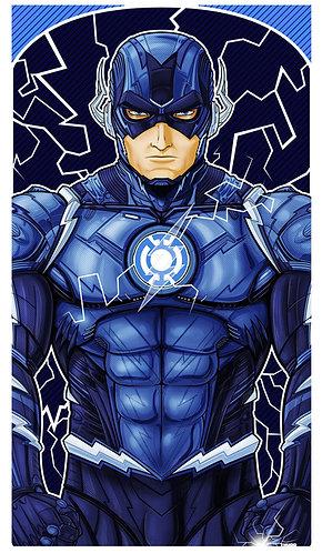 Flash Blue Lantern ICON