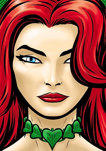 Poison Ivy HeadShot