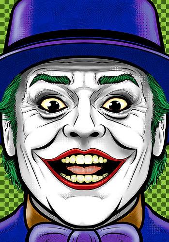 Jack Nicolson Joker HeadShot