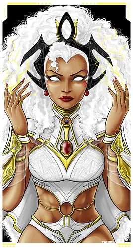 Storm White Costume Icon