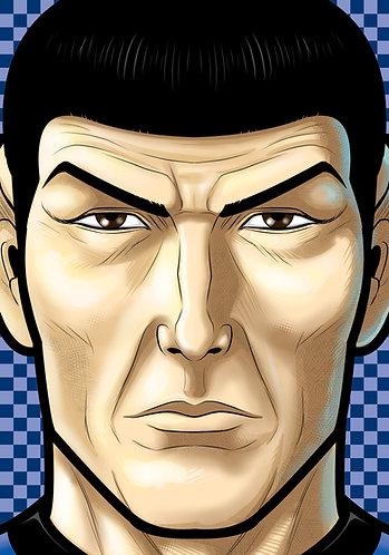 Spock Headsot