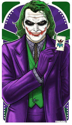 Joker Heath Ledger/J Phoenix ICON
