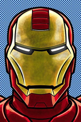 Iron Man HeadShot