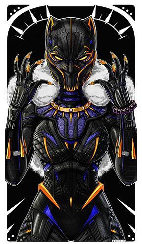 SHURI Black Panther MASK / Unmasked