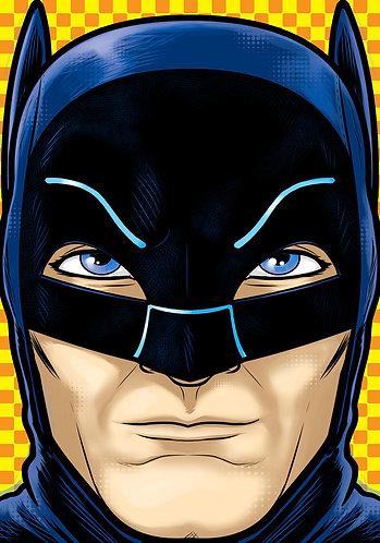 Adam West Batman HeadShot