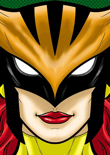 Hawk Girl HeadShot