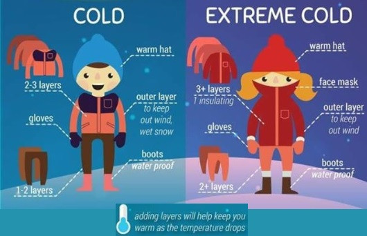 Cold Snap Tips!!