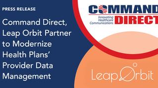 Command Direct, Leap Orbit Partner to Modernize Health Plans' Provider Data Management
