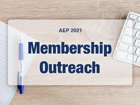 AEP 2021: Membership Outreach