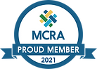Proud member of MCRA - 2021