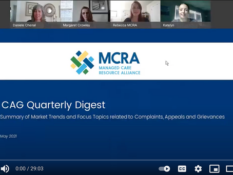 CAG Quarterly Digest: Stars Ratings