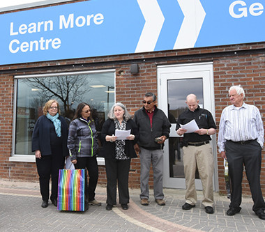 Ignace and the NWMO Open New Area Learn More Centre in Town Plaza