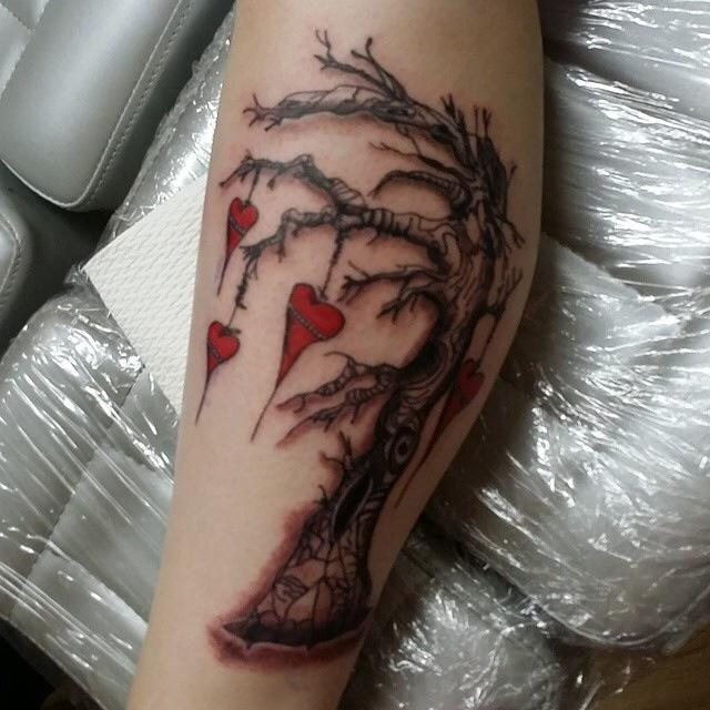 The Used inspired tree