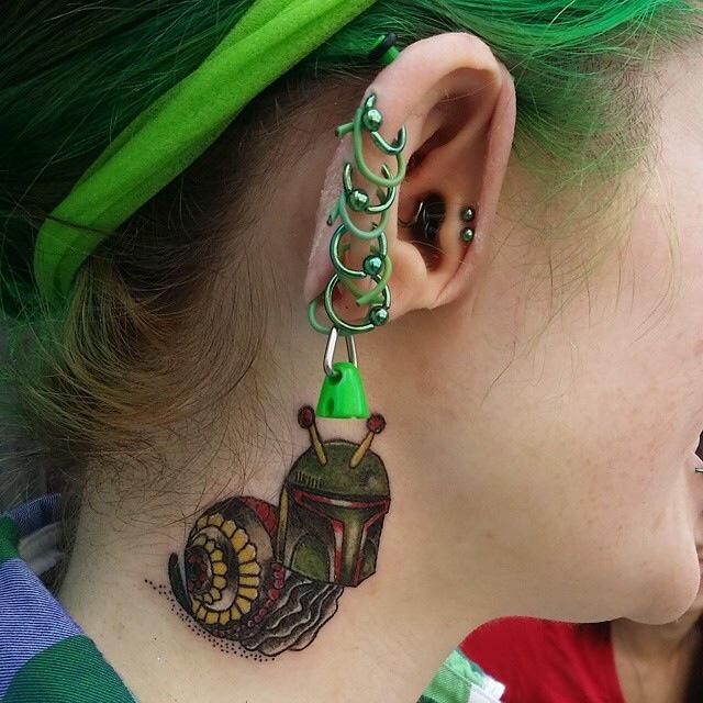 Custom Boba Fett Snail