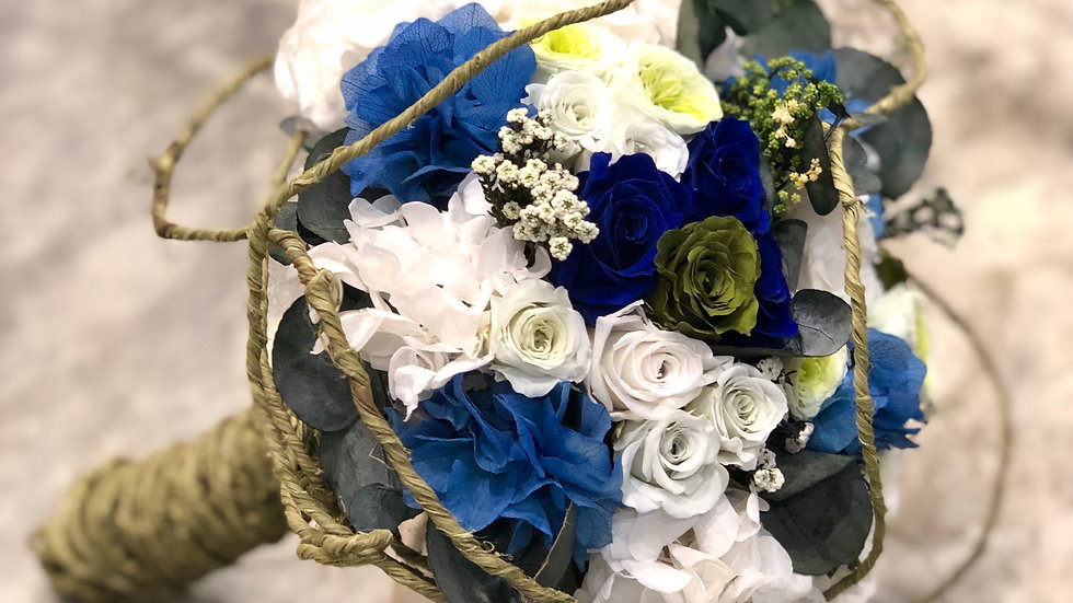 Preserved Bespoke Bridal Bouquet