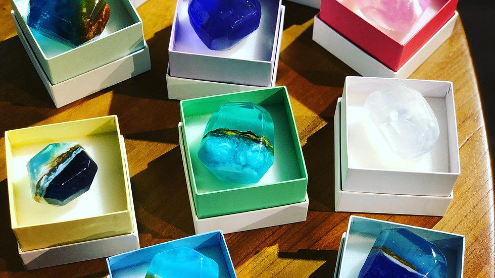 日本誕生月寶石皂 Bespoke Jewelry MP soap (Birthstone)
