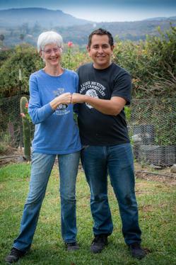 Linda Hendy and Bryan Martinez