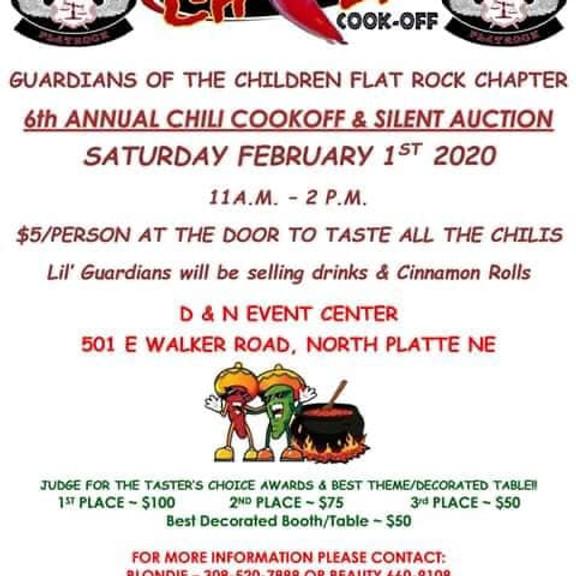 6th Annual GOC Chili Cook-Off