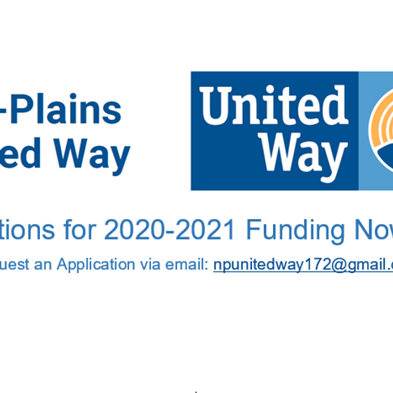 Funding Applications Open for 2020-2021