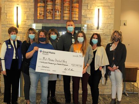 GPH Employees Make Historical Donation