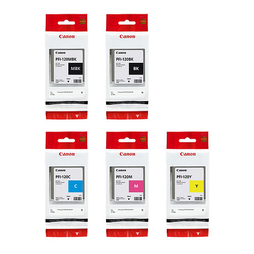 130ml Canon PFI-120 Ink Cartridges