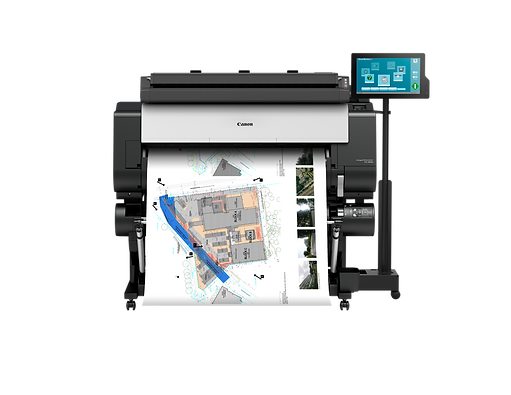 Canon TX-3000 T36 Plotter MFP Scan To Print Solution