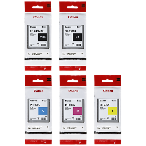 55ml Canon PFI-030 Ink Cartridges